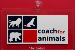 Naambordje Coach for animals