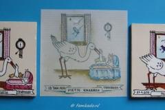 Geboortetegels Liselotte en Pepijn*