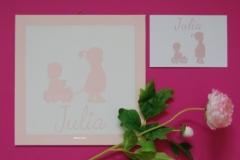 Geboorteschilderij Julia