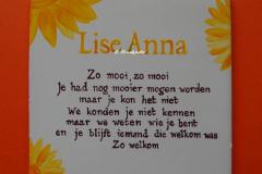 Herinneringstegel Lise-Anne