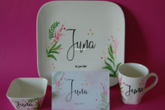 Geboorteservies Juna