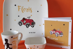 Geboorteservies Floris