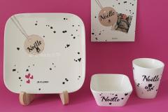 Geboorteservies-Noelle
