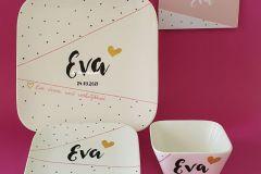 Geboorteservies-Eva