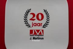 Jubileumbordje J.Martinus