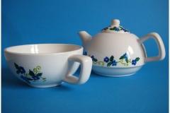 8.Tea for one blauw