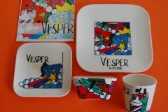Verjaardagsservies Vesper