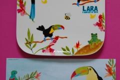 Verjaardagsbordje Lara a