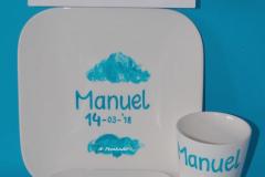 Verjaardagsservies Manuel